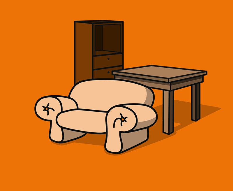 Sofa   Leder   Rot   Natuzzi